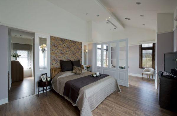 美式古典卧室家装效果图