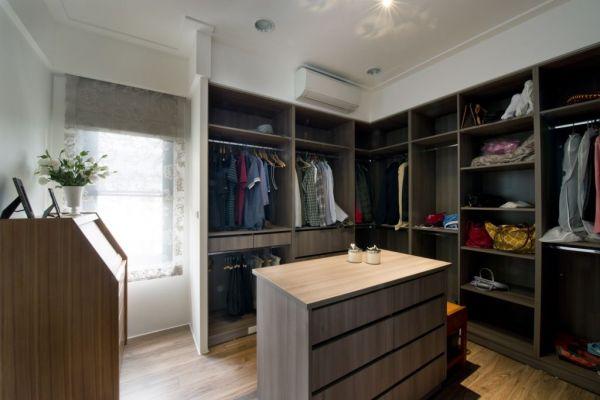 美式衣帽间室内家装效果图