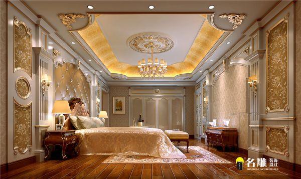 欧式别墅门厅造型设计