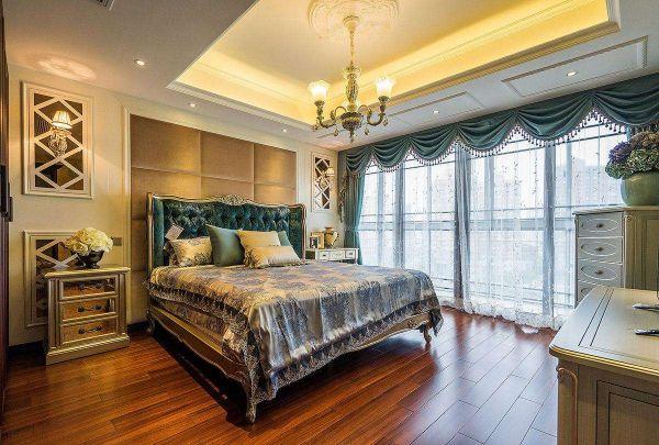 欧式风格别墅卧室设计室内效果图欣赏