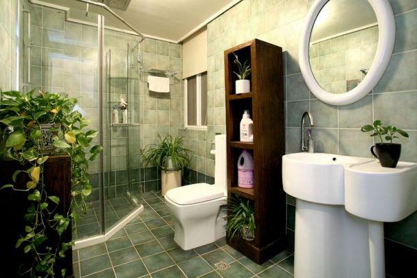 欧式复古设计家居卫生间装修图片