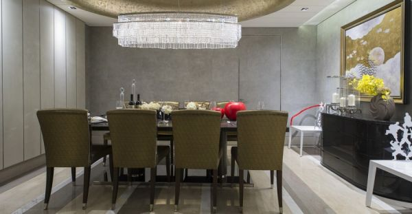 美幻欧式家装餐厅效果图