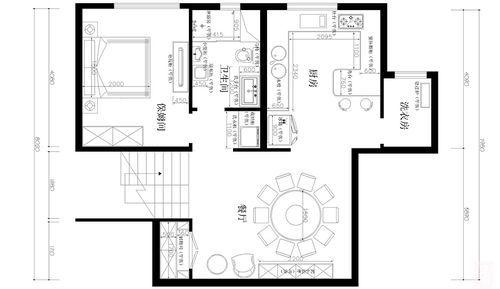 香河孔雀城别墅300平米一层户型图