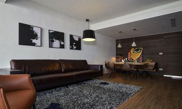 混搭格调家装客厅效果图装修