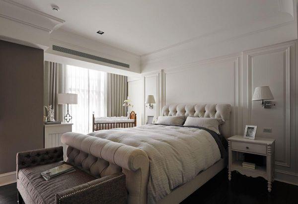 美式风优雅卧室设计