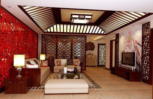 中式两层别墅案例_家居装修设计网