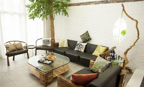 北欧风格复式家居装饰设计效果图