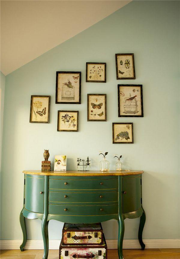 北欧风格家居相片墙装饰设计效果图
