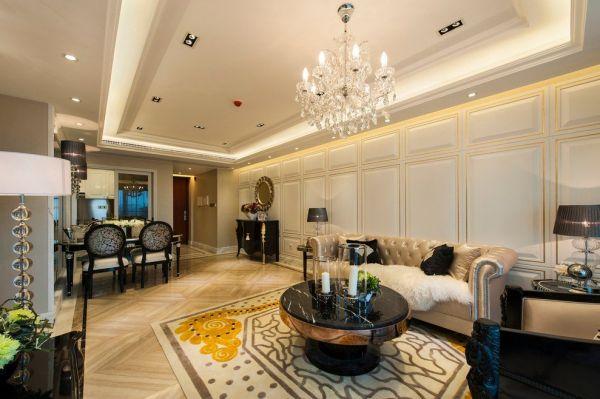 豪华新古典二居装修案例