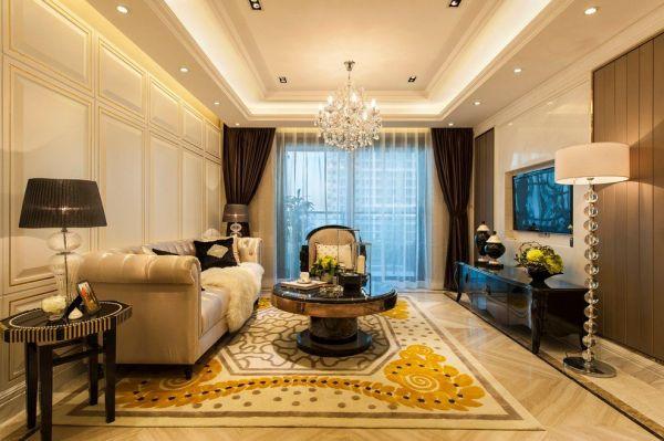 豪华新古典客厅装修大全