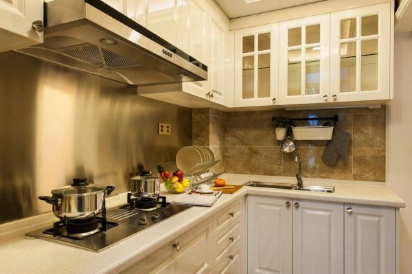 精致新古典厨房装潢案例