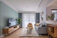 98㎡北歐風格裝修效果圖,清新舒適小三房裝修