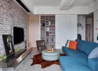 112㎡現代工業,簡約舒適的家居,簡單情趣