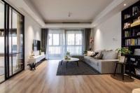 123平的现代简约风三居室,大面积就是宽敞