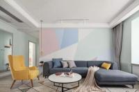 138平的北歐風三房,軟裝與色彩搭配好