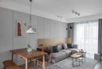 117平北欧风格三居室,干净利落,自然温馨