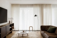 90㎡ 做三房, 客厅全开放,设计都在细节里