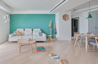 120平米老房翻新,新格局自然舒适