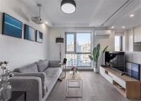 65平的简约小户型公寓,单身女白领的惬意小