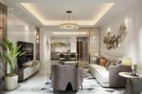 131平米现代四居室装修案例