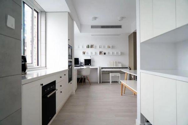 90平米老房翻新,色调统一简约精致