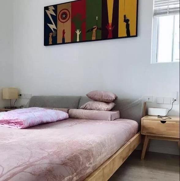 108㎡简约风三居室,简洁美观实用。