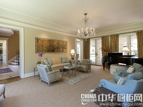 美式風格客廳設計