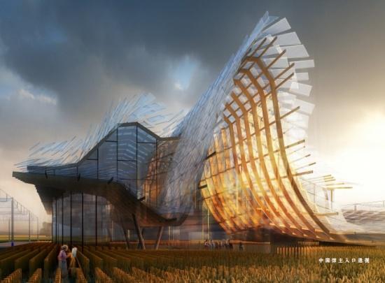 2015年米兰世博会:中国馆主体结构完工