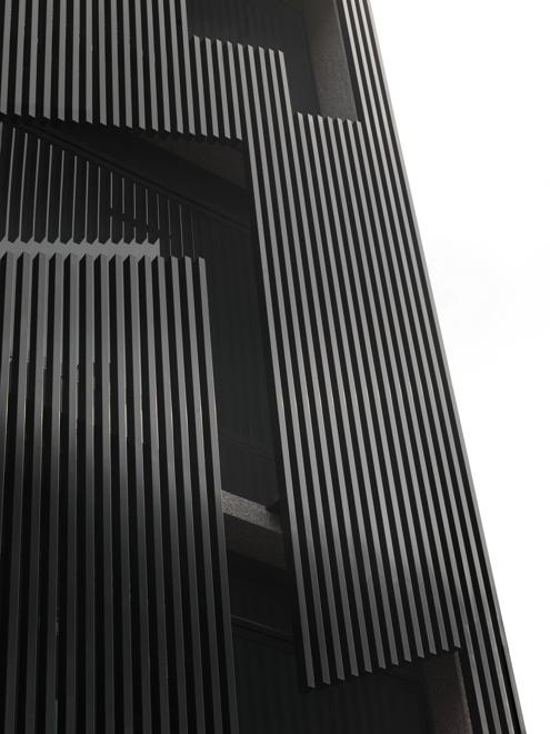 青埕设计郭侠邑:光合呼吸宅 建筑的轴线