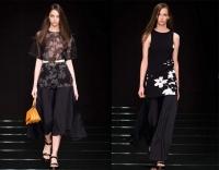 跟米兰时装周学设计,黑色家装诠释时尚潮流