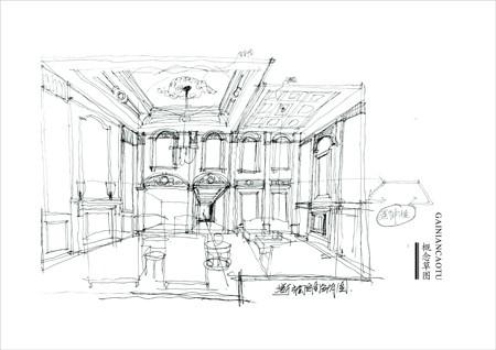户型 户型图 简笔画 平面图 手绘 线稿 450_318