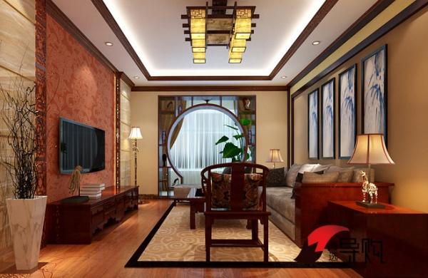 新中式客厅装修法则