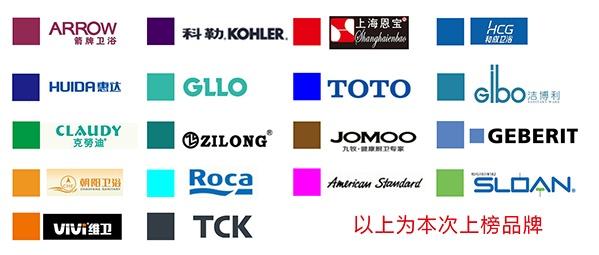 卫浴品牌排名十强