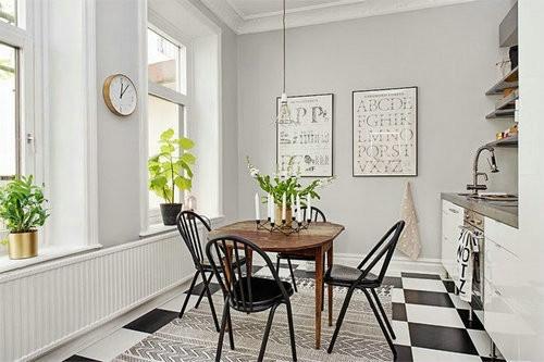 宜家风格简约公寓设计效果图_家居装修设计网