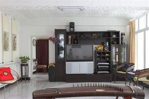 客厅储物柜效果图_家居装修设计网