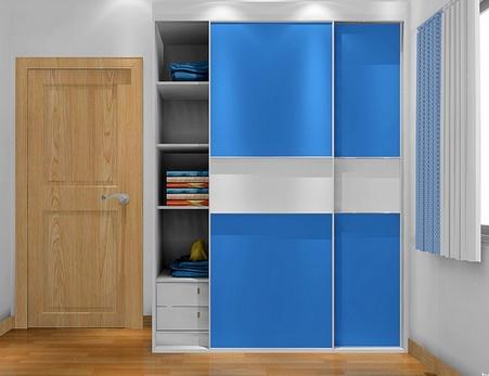 6种儿童衣柜配色方案