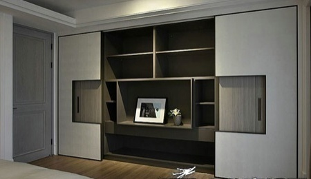 案例:主卧室衣柜设计 拥抱经典之美