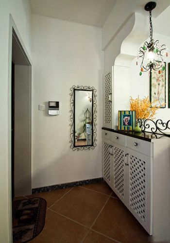 客廳進門玄關效果圖 美化家中過渡空間