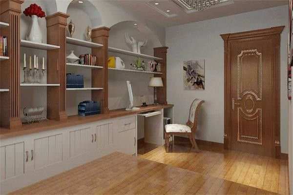 115平3室1厅欧式风格主卧室装修效果图