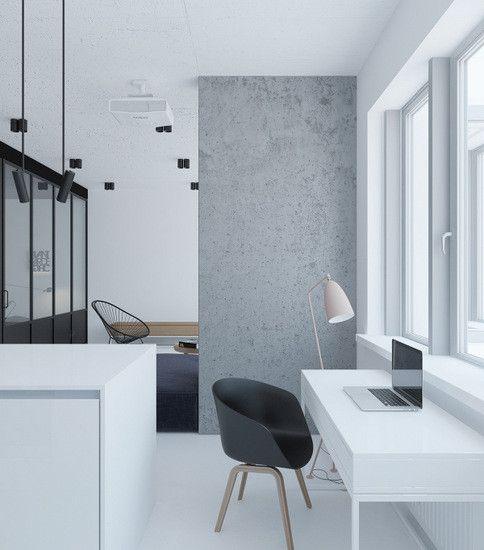 极简室内设计 窗户