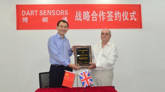 博朗通与英国DART SENSORS合作甲醛检测仪市场