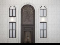 別墅門創紀錄了:CEI精雕鋁裝甲門7.5米高曝光