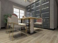 简于形 奢于心,橡木地板打造轻奢客厅