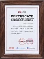 中国联塑实力领跑,连续6年上榜中国品牌价值500强