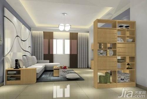 客厅隔墙柜效果图欣赏二:韩式田园时尚家具-田园隔墙柜