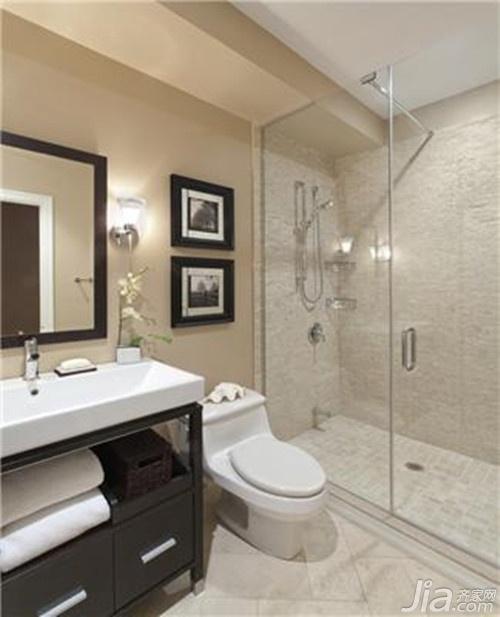 十平米卫生间浴池设计图展示