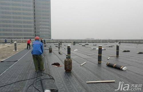 二,屋面防水施工方案