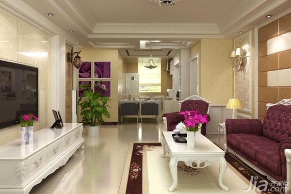 地板砖颜色搭配大全之客厅