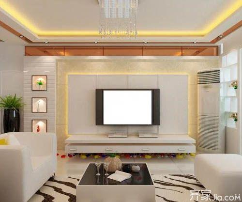 客厅电视背景墙效果图欣赏