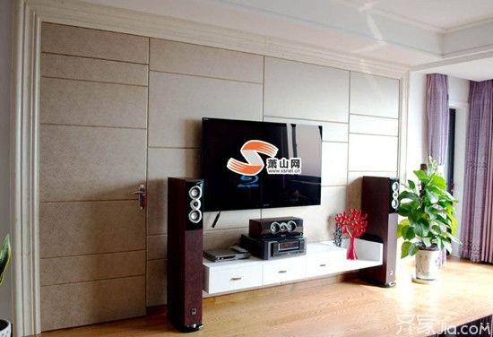 【客厅电视背景墙】硬包电视背景墙的特点及安装方法
